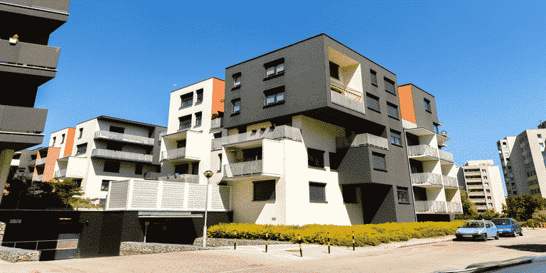exterior-of-modern-apartment-buildings
